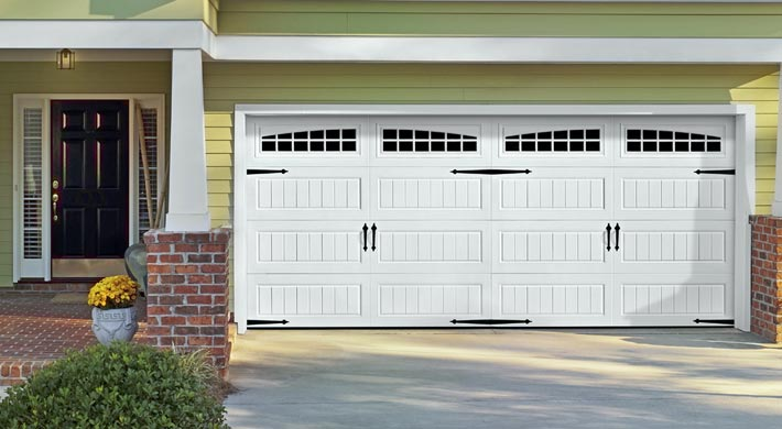 Carriage Garage Doors : Carriage house doors installation in lino lakes white